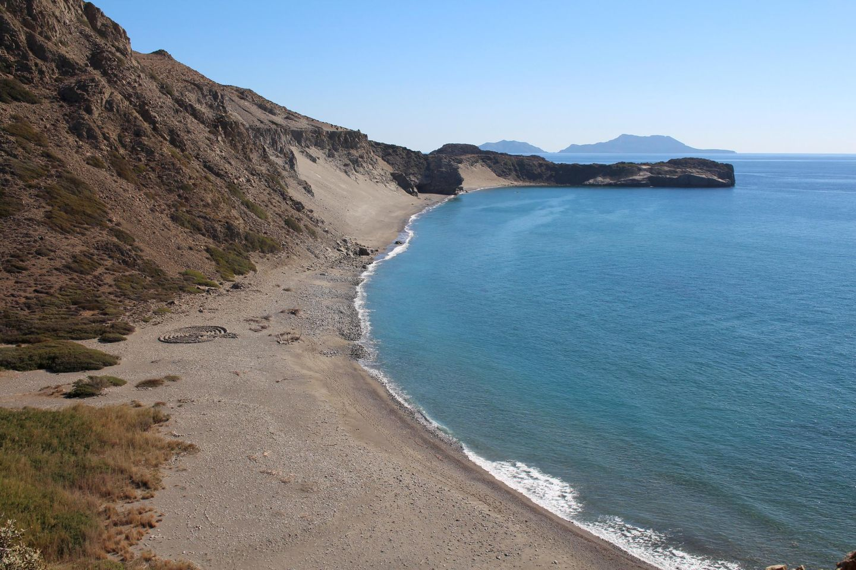Blick über die Dünen bei Triopetra