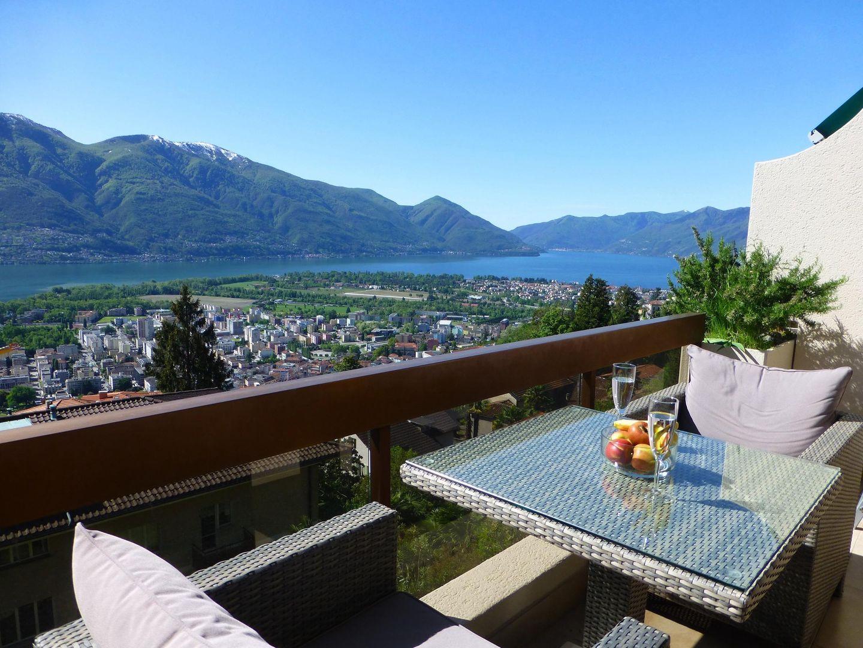 Holiday apartment Collina d'Oro App. C14 (2320693), Orselina, Lake Maggiore (CH), Ticino, Switzerland, picture 1