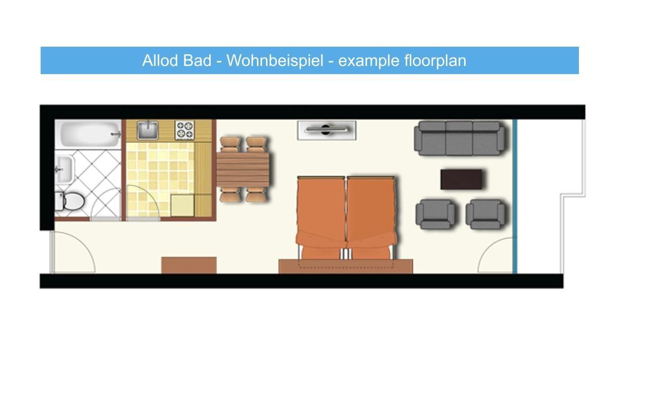 Appartement de vacances Allod Bad 104 (325467), St. Moritz, Haute Engadine - St. Moritz, Grisons, Suisse, image 7