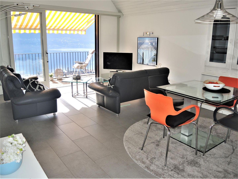 Appartement de vacances Attico Nibbio (2552209), Minusio, Lac Majeur (CH), Tessin, Suisse, image 3