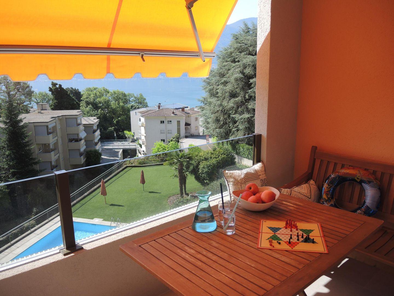 Holiday apartment Bellavista (1648912), Locarno, Lake Maggiore (CH), Ticino, Switzerland, picture 1