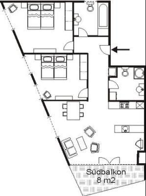 Appartement de vacances Craista 5 (316376), Scuol, Basse Engadine - Scuol - Samnaun, Grisons, Suisse, image 11