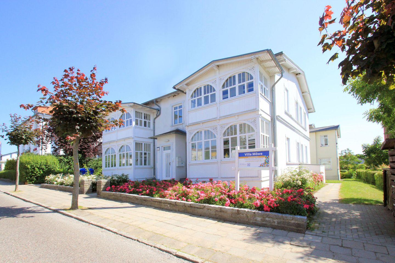 Villa Möwe - FeWo 6: Veranda, Sauna- u. Schwi  in Deutschland