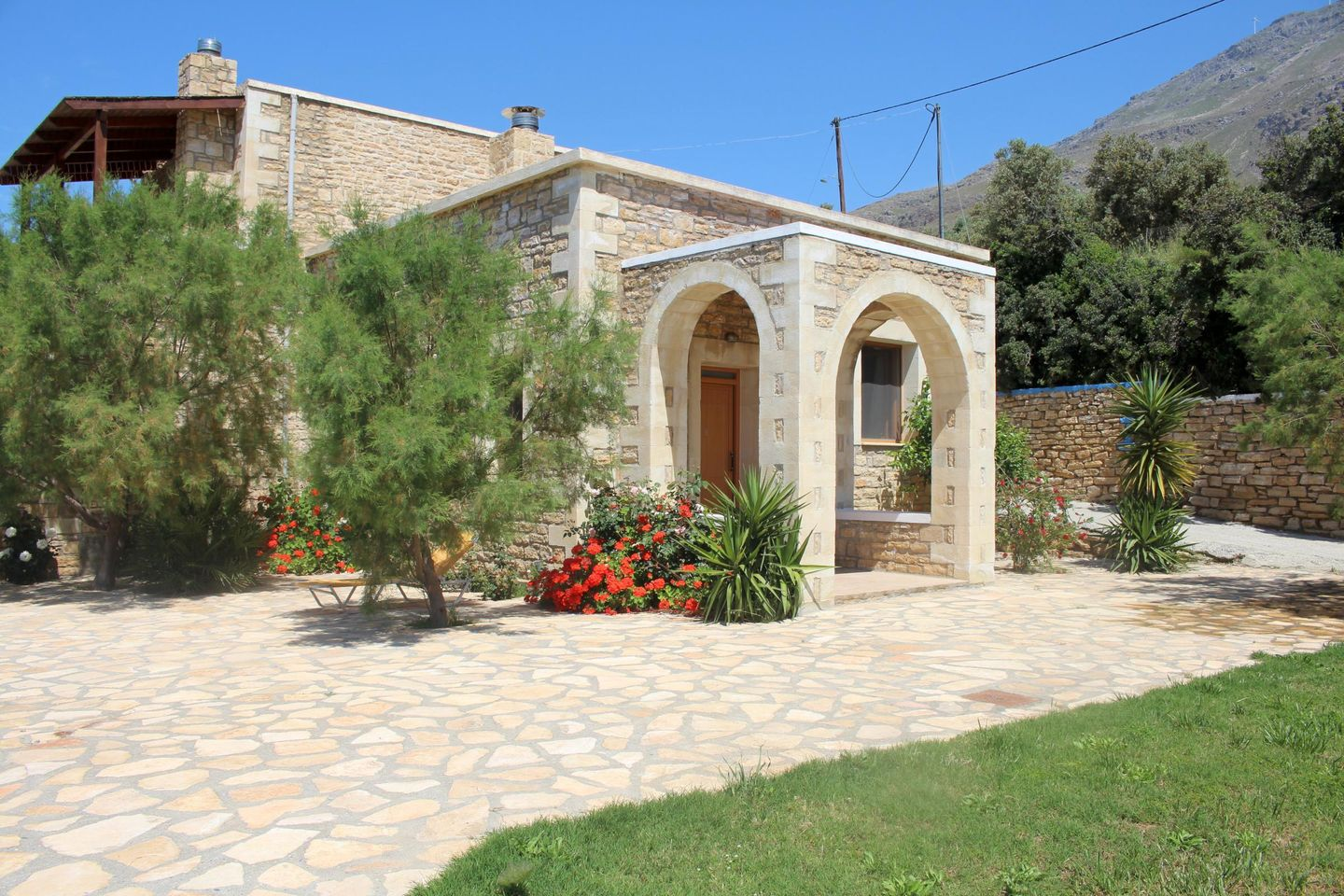 Holiday house PETRA-MARE 1 (321659), Triopetra, Crete South Coast, Crete, Greece, picture 1