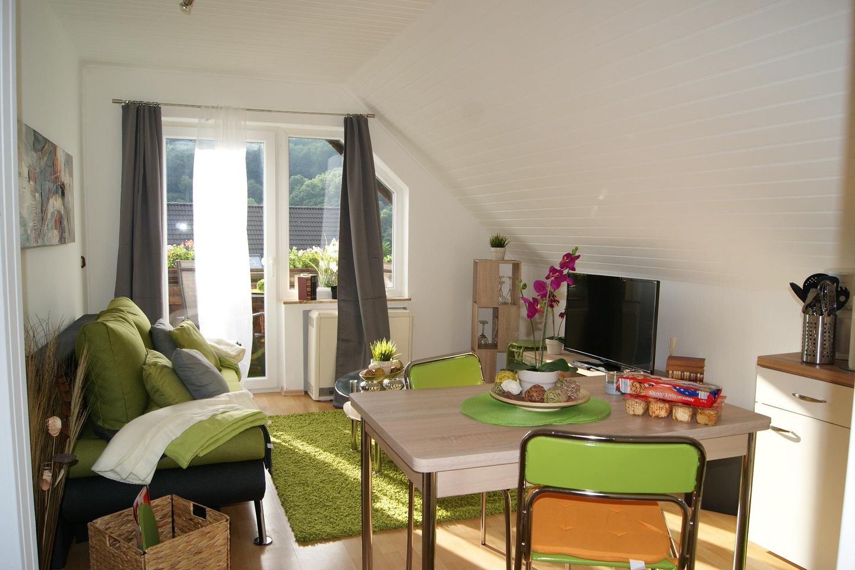 """Ferienwohnungen """"Haus am See"""" - SeeSicht  in der Eifel"""
