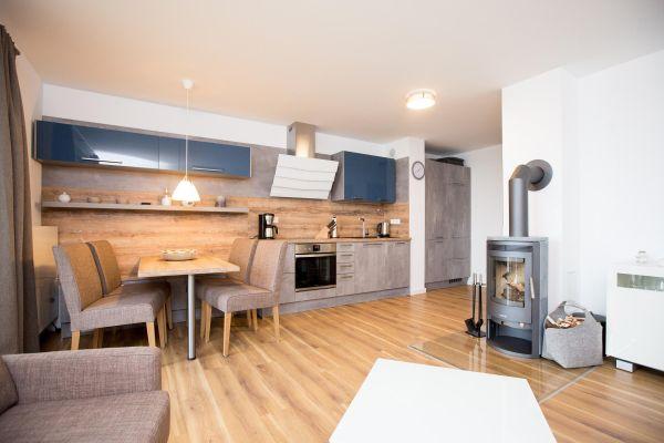 Kamin-/Ofen von Gemütliches Zweizimmer-Apartment mit Kamin optional mit Bootsliegeplatz (P7A3)