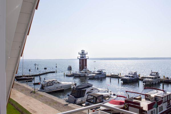 Blick auf Sehenswürdigkeit von Großes Panorama-Apartment für 4-6 Personen, drei Balkone,kostenfreier Parkplatz direkt am Haus (7/A6)