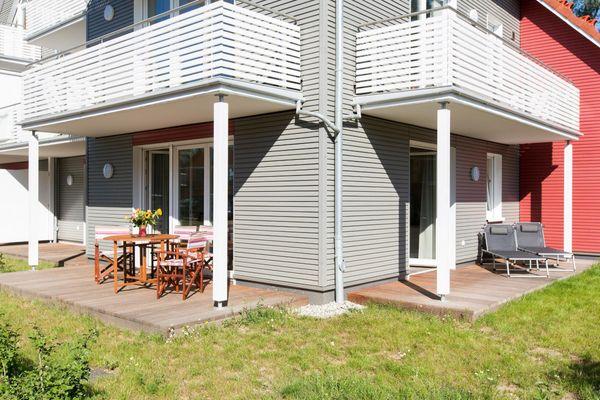 von Panorama-Apartment * Hafenperle* Haus 5/ A5 mit 2 Terrassen