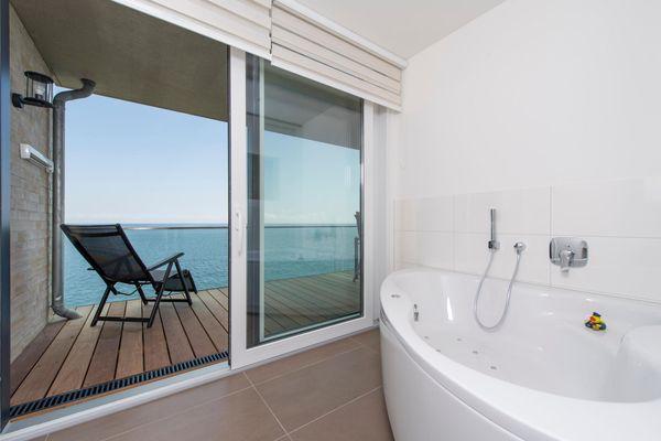 Küstenküche  - Badezimmer