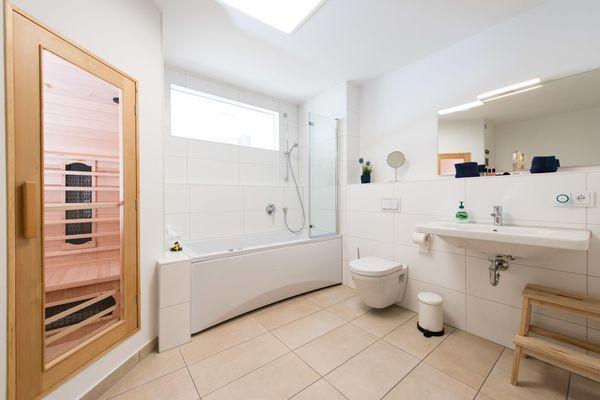 Hafenlodge  - Badezimmer