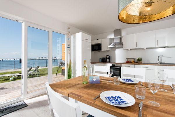Hafenlodge  - Küche / Küchenzeile