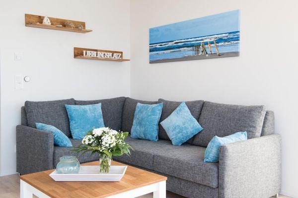 Hafenlodge  - Wohnzimmer