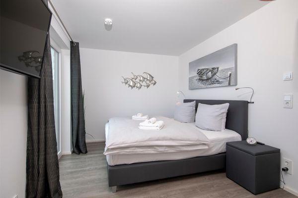 Silbermöwe - Schlafzimmer