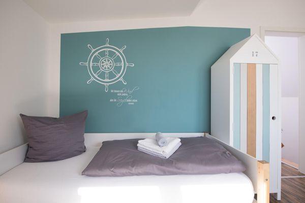 54 Grad Nord  - Schlafzimmer