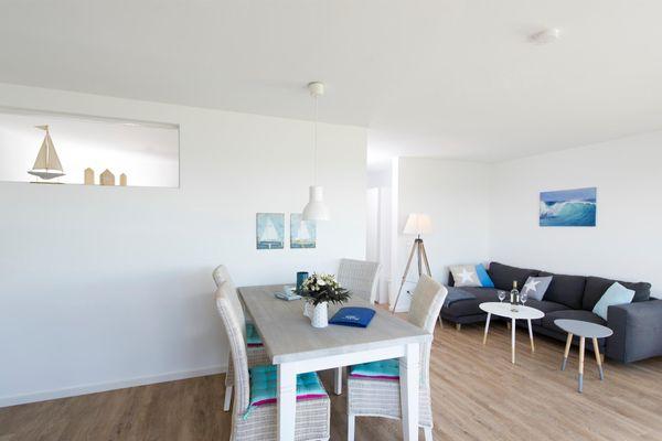Blaue Ferne  - Wohnzimmer