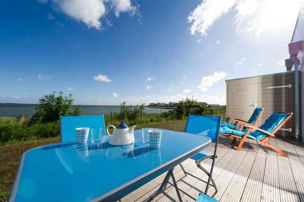 Blaue Ferne  - Terrasse