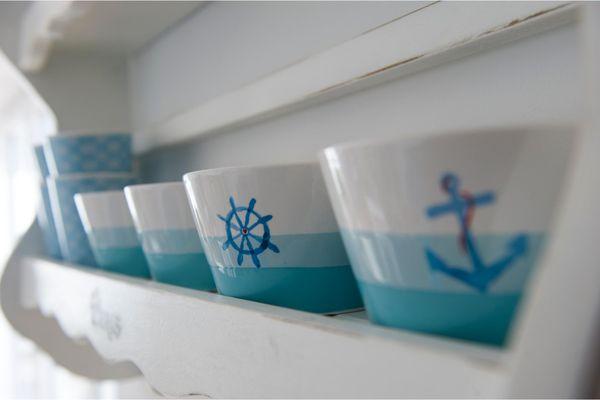 Blaue Ferne  - Küche / Küchenzeile