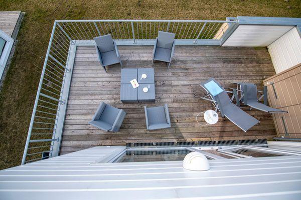 Kolibri  - Balkon