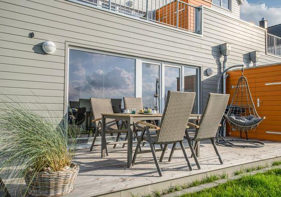 Ahoi Lodge  - Terrasse