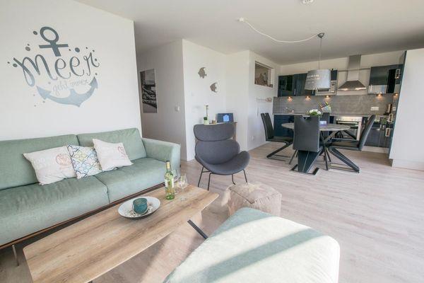 Ahoi Lodge  - Wohnzimmer