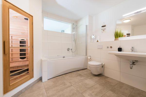 Sternschnuppe  - Badezimmer