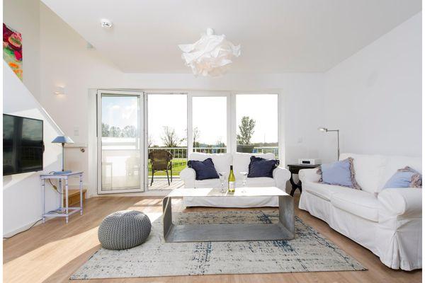 Seeblick  - Wohnzimmer