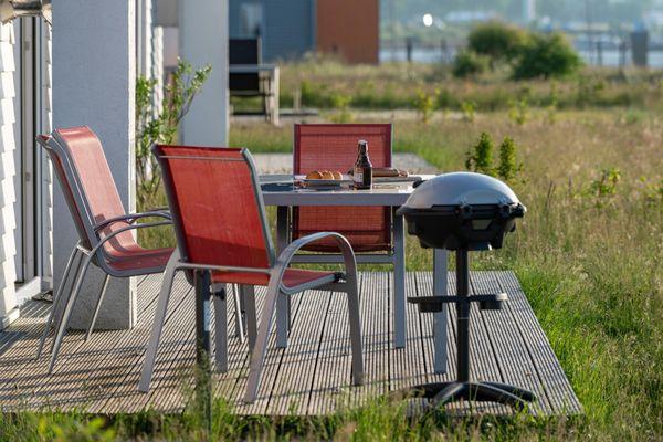 An der Ostsee  - Terrasse