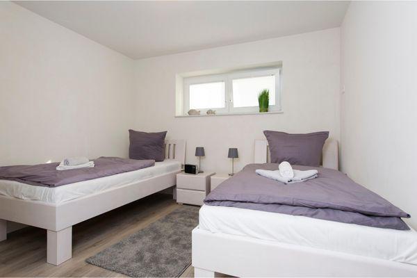Yachtblick auf der Ostsee  - Schlafzimmer