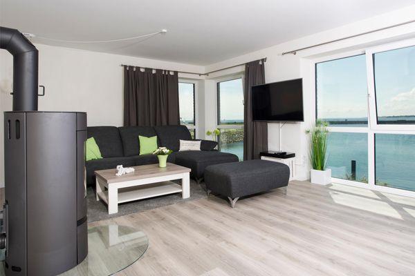 Traumzeit auf der Ostsee  - Wohnzimmer