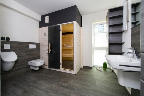 Traumzeit auf der Ostsee  - Badezimmer