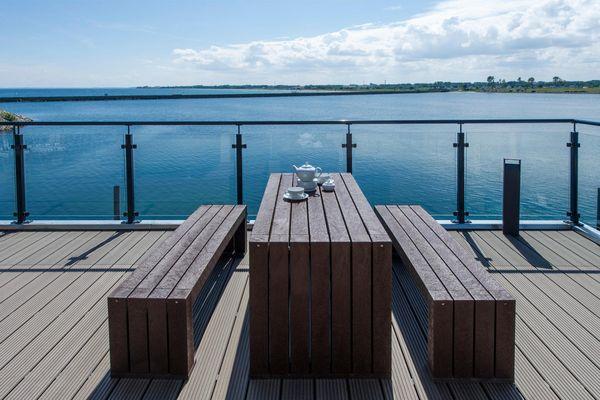 Traumzeit auf der Ostsee  - Terrasse