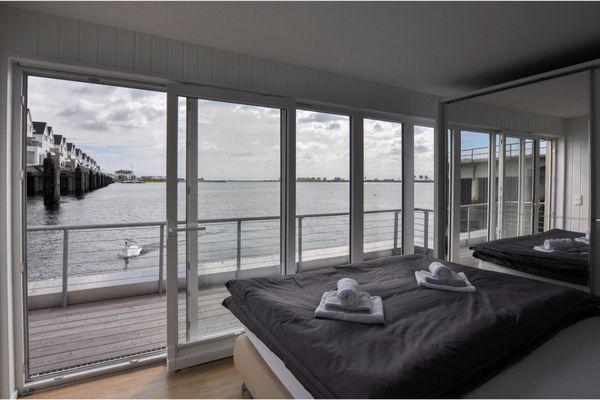 Hausboot  - Schlafzimmer
