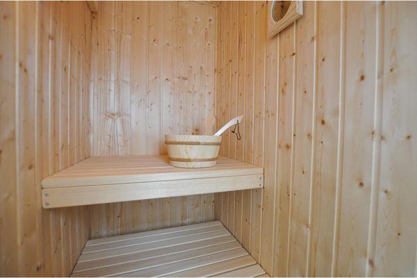 Hausboot  - Sauna