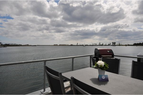 Hausboot  - Terrasse