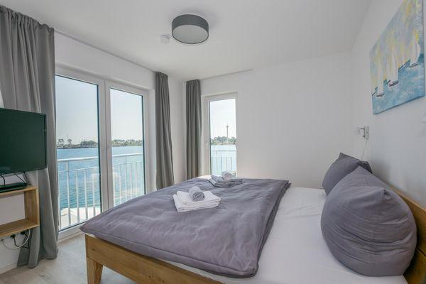 Süd-See-Seite  - Schlafzimmer