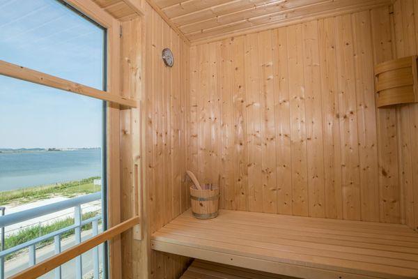 Süd-See-Seite  - Sauna