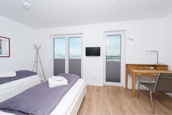 Villa Seensucht  - Schlafzimmer