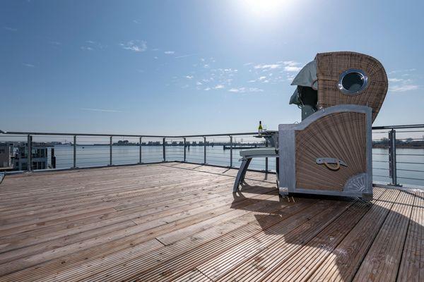 Haus im Meer  - Terrasse