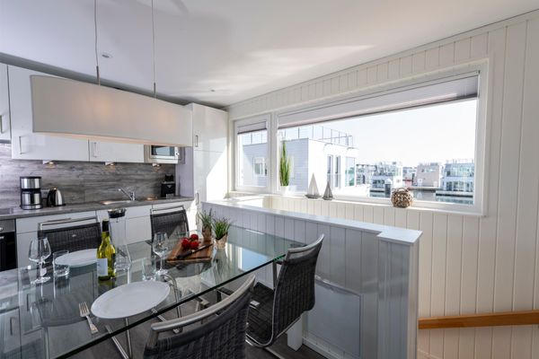 Haus im Meer  - Küche / Küchenzeile