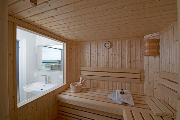 Wind und Wasser  - Sauna