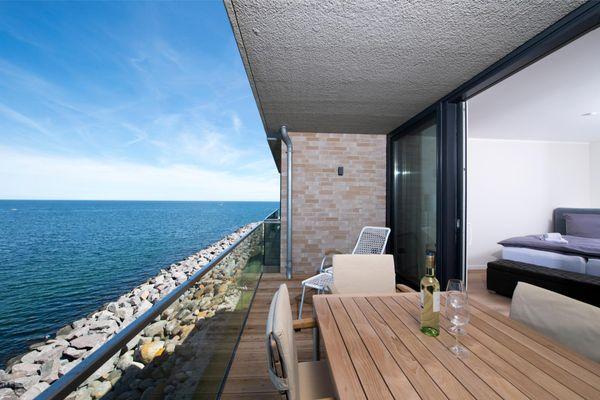 Wind und Wasser  - Terrasse