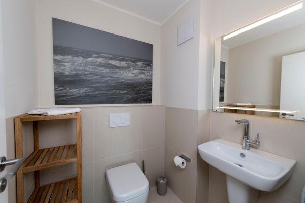 Wind und Wasser  - Badezimmer
