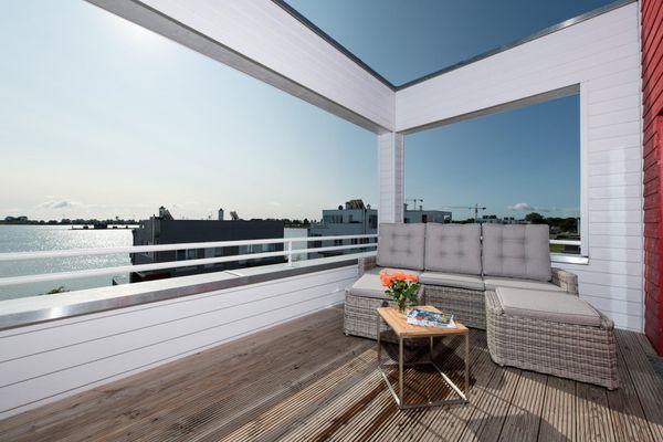 Hamptons Beach House  - Balkon