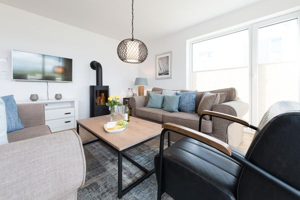 Hamptons Beach House  - Wohnzimmer