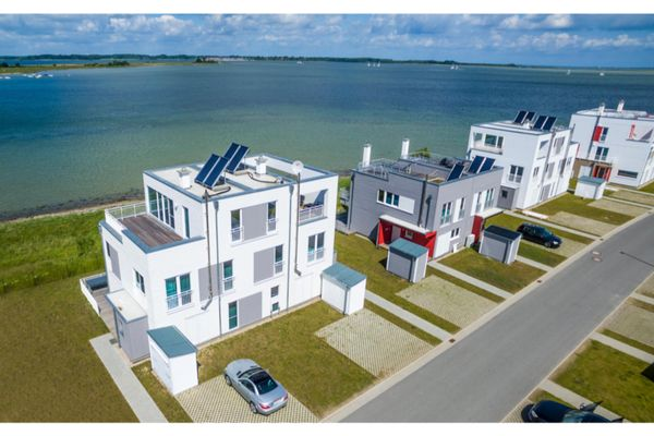 Hamptons Beach House  - Vogelperspektive