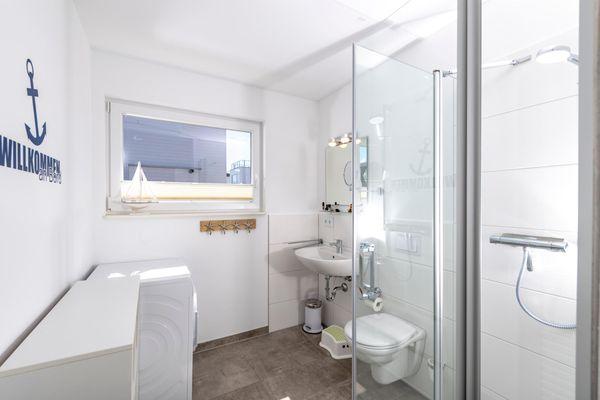 An Bord  - Badezimmer
