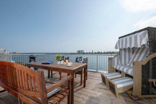 Strandelfe  - Balkon