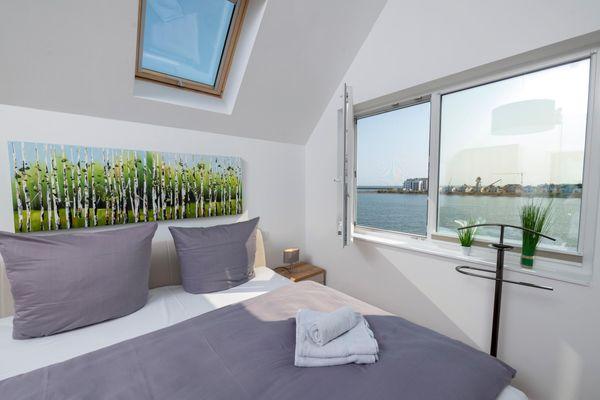Strandelfe  - Schlafzimmer
