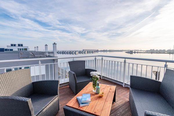 Annas Heimat am Meer  - Balkon