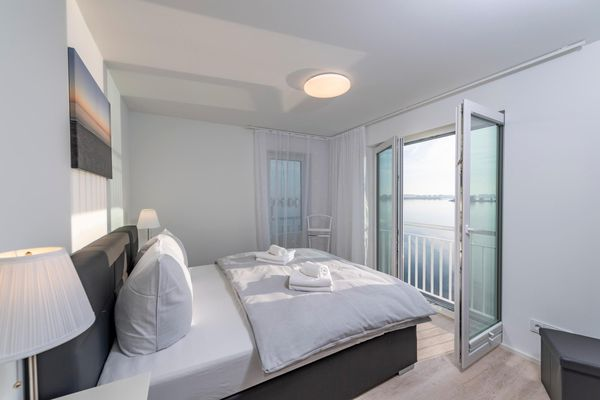 Annas Heimat am Meer  - Schlafzimmer